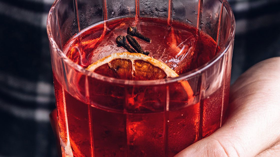 Forest Clove Negroni