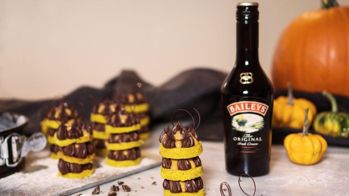 Fira Halloween med ljuvligt god Baileysbakelse