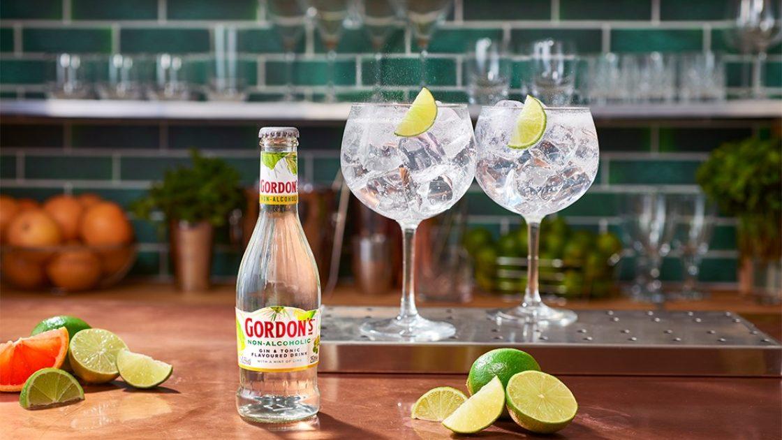 Gordons lanserar – Gordons Non-Alcoholic Gin & Tonic
