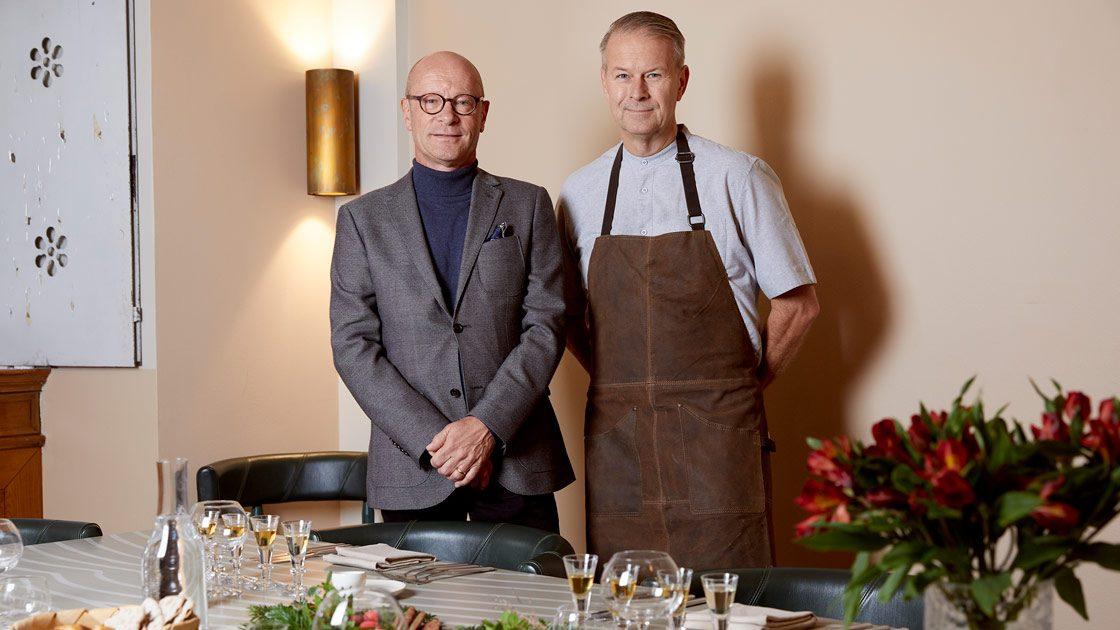 Fira årets jul med O.P. Anderson och recept skapade av krögaren Fredrik Eriksson