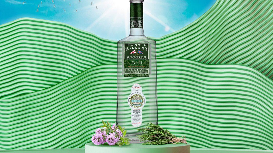 Somrig gin i limiterad upplaga