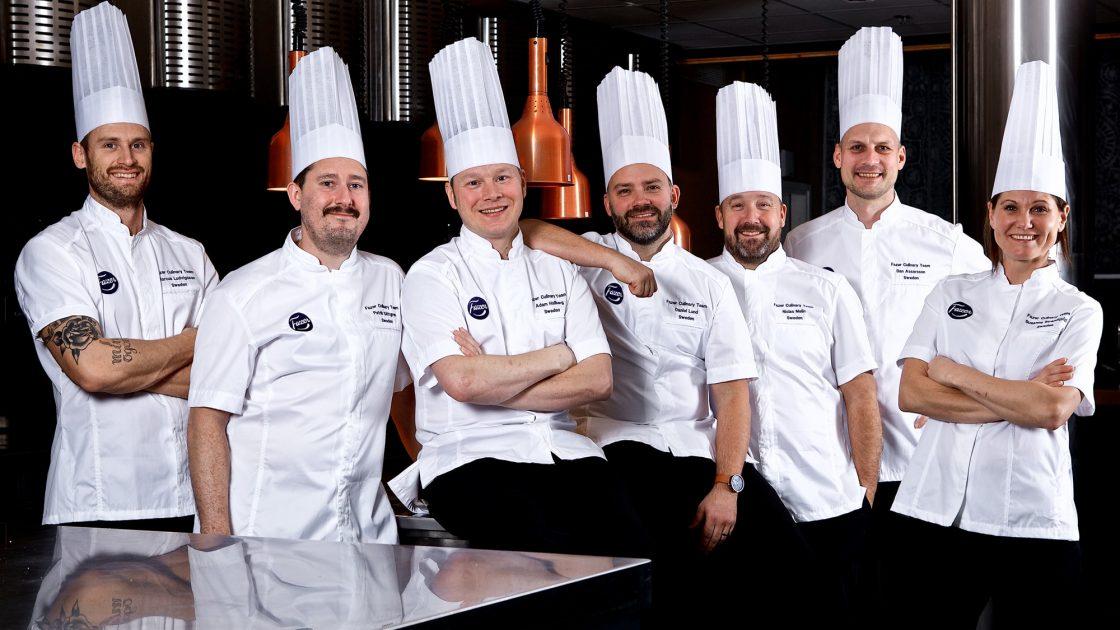 Nedrakningen till Culinary World Cup har borjat for varldsmastarna i lunch