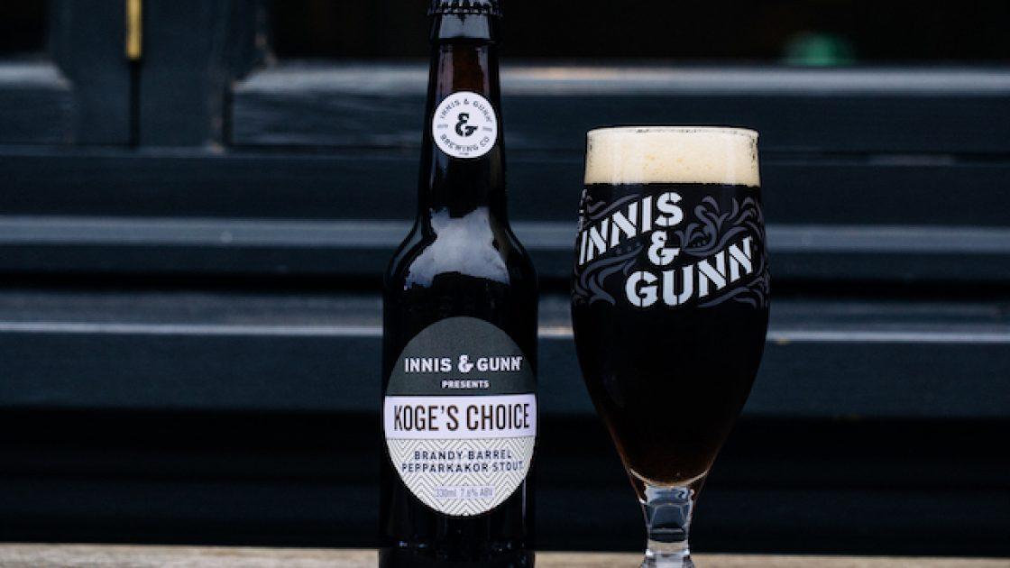 Nu lanseras arets vinnarol Koges choice fran Innis & Gunn