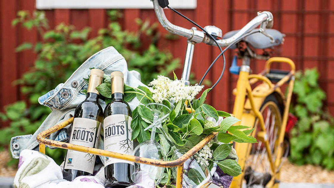 Roots by Drostdy-Hof – ett nytt rättvisemärkt, hållbart vinvarumärke