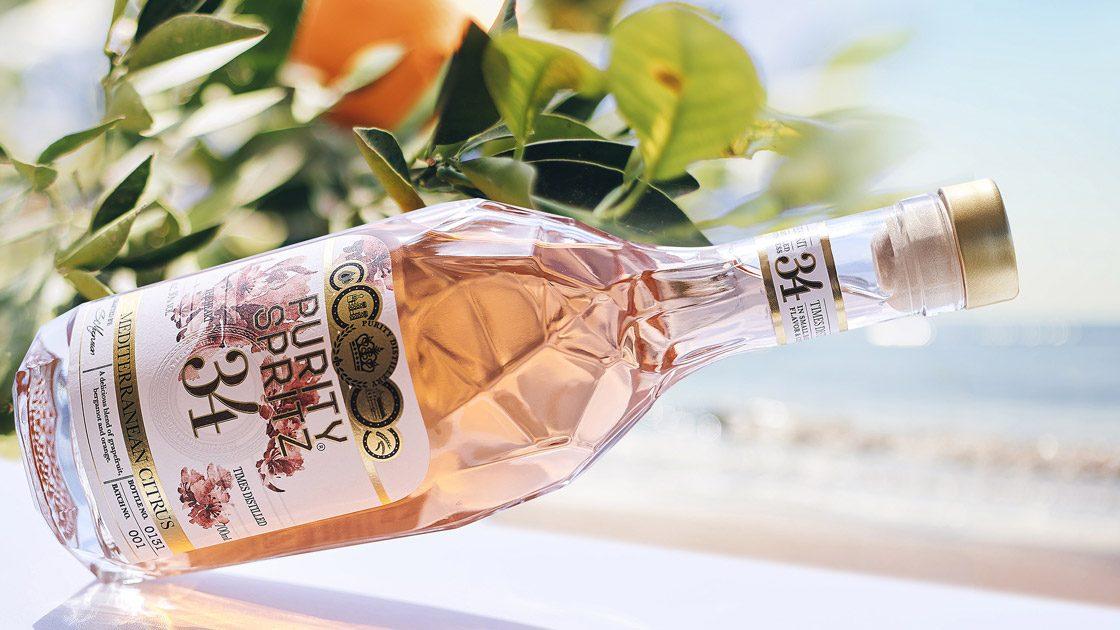 Purity Vodka – Nu smaksatt med Mediterranean Citrus