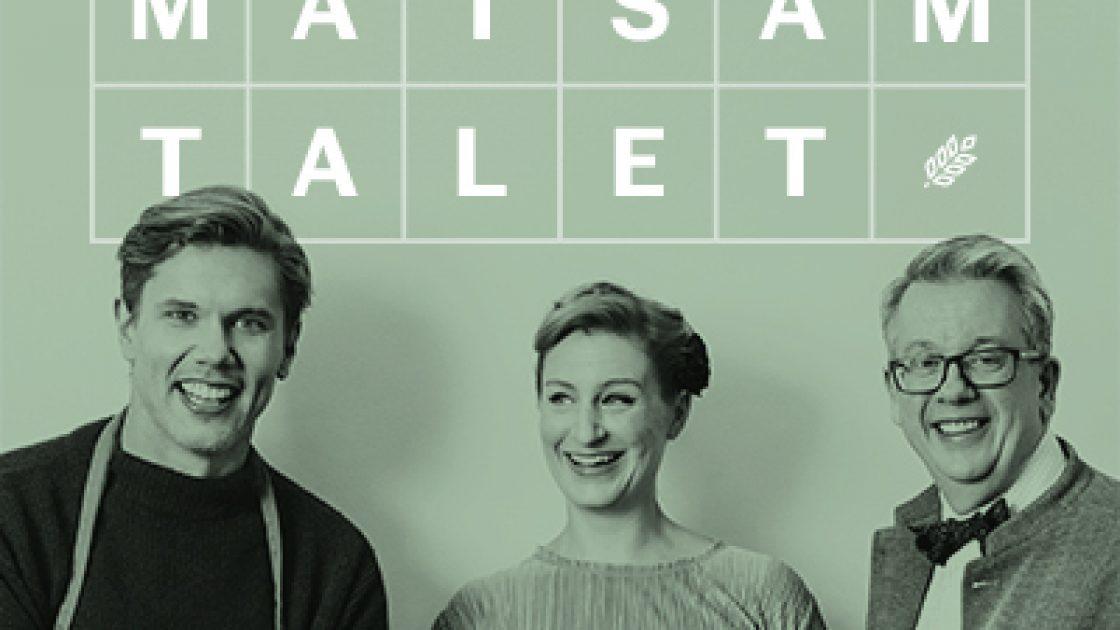 Stjarnkocken Tommy Myllymaki och maltidsforskaren Richard Tellstrom till Lantmannens podcast Matsamtalet