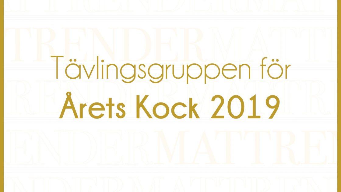 Tävlingsgruppen.Årets.Kock.Mattrender.2019