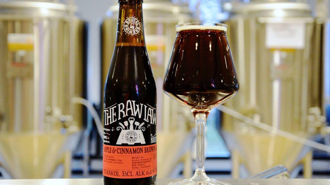 THE RAW LAW Cinnamon Apple Brown Ale 6