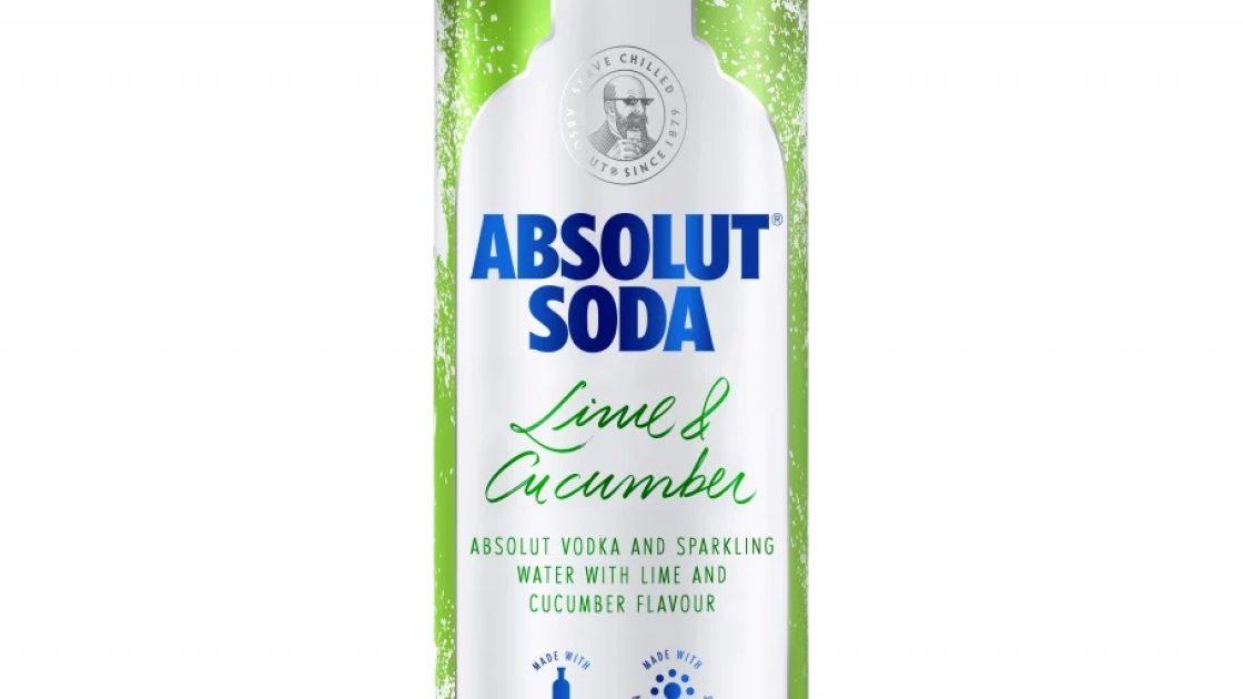 Absolut satsar på nytt segment med Absolut Soda Lime & Cucumber