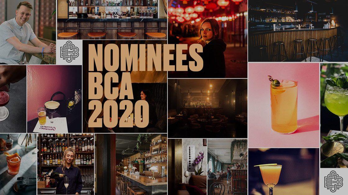Här är Nordens bästa barer - Nominerade BCA 2020