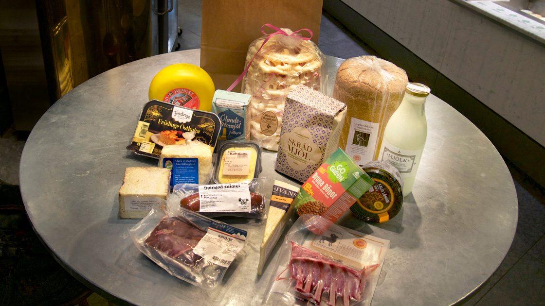 Brist på kulturhistoria i matbutikerna