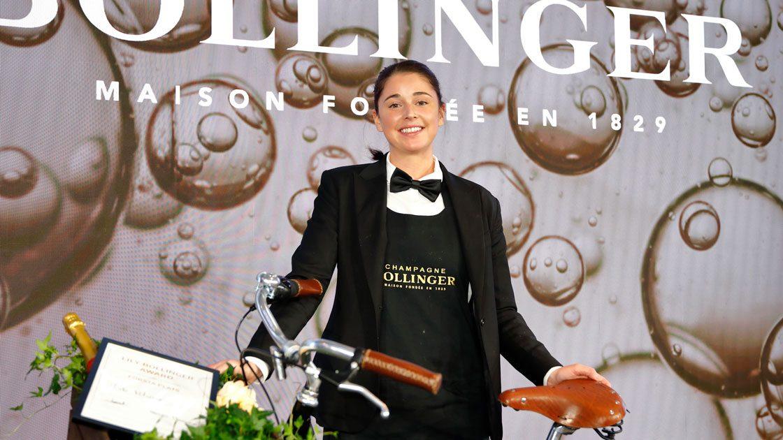 Vinnaren av Lily Bollinger Award är utsedd - Sveriges bästa kvinnliga sommelier är Frida Winters