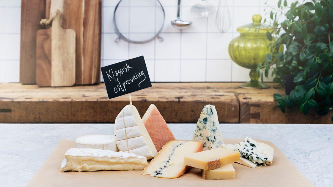 klassisk ostprovning