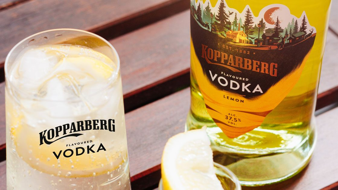 Osugen på snaps? Tur för dig, nu lanseras Kopparberg Vodka Lemon