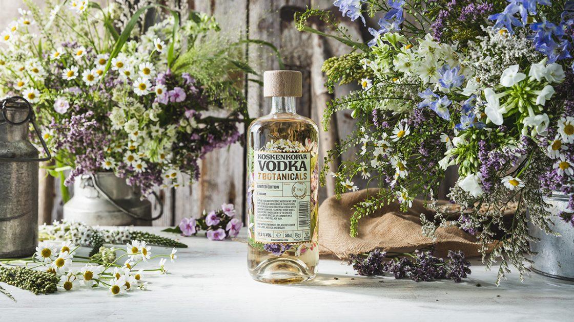 Koskenkorva Vodka 7 Botanicals – en begränsad upplaga inspirerad av den nordiska midsommaren