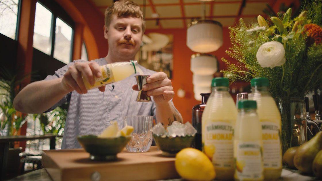 Lemonade moment med Brämhults Lemonad Citron