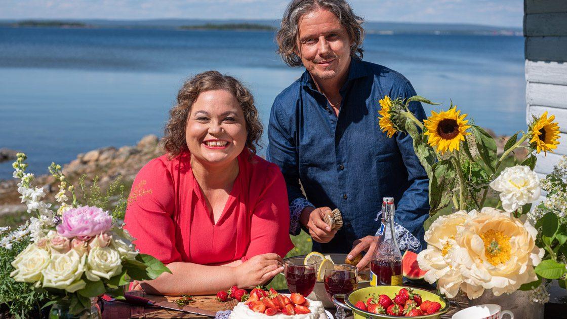 I Meny Norrlandsresan blir det lättlagat och smakrikt tillsammans med kocken Susanne Jonsson