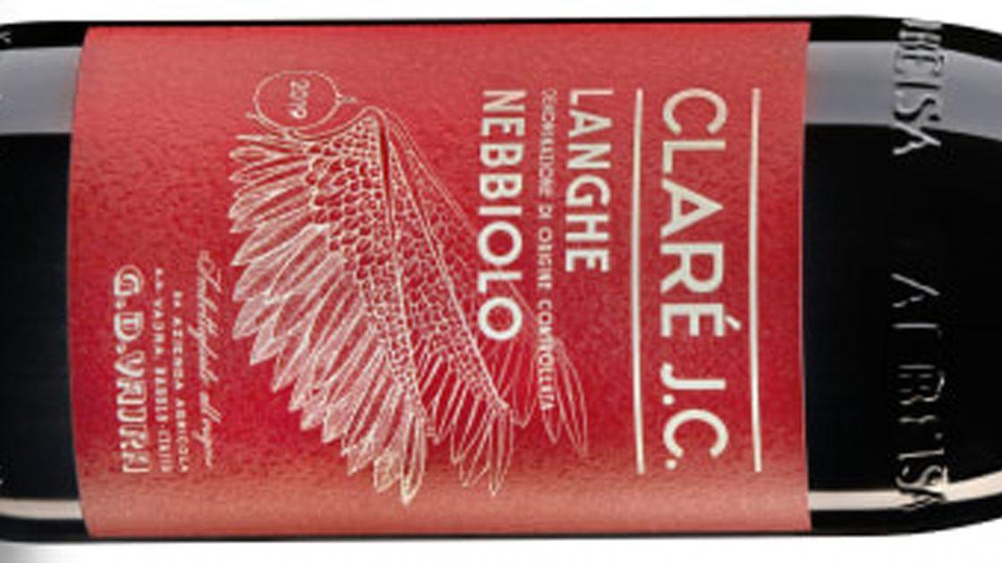 Idag kl 10:00 lanseras Claré J.C. Langhe Nebbiolo 2019 från G.D. Vajra!