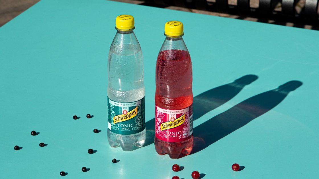 Schweppes limiterade sommarsmaker: Tonic Enbär och Tonic Vinbär