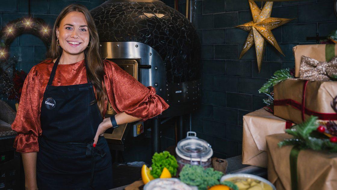 Eatery lanserar julbord signerat mästerkocken Sofia Henriksson