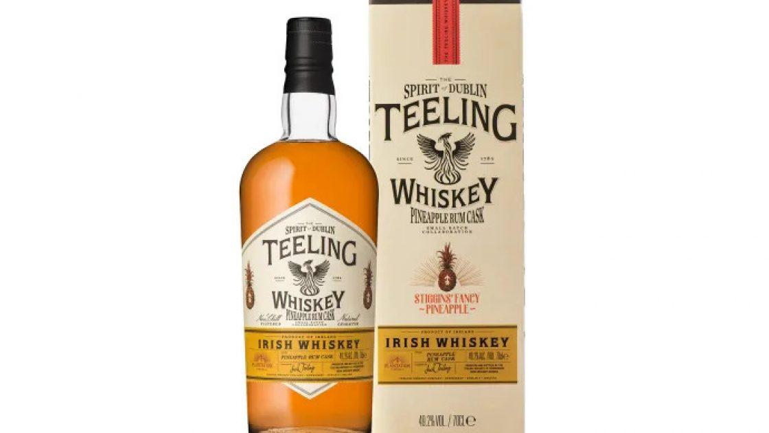 Teeling Whiskey i unikt samarbete med Plantation – Stiggin's Fancy Pineapple Rum Cask