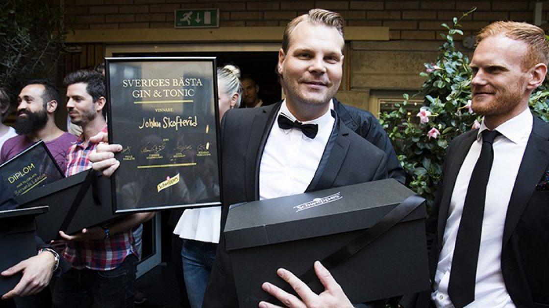 Johan Skofterod gor Sveriges Basta Gin Tonic