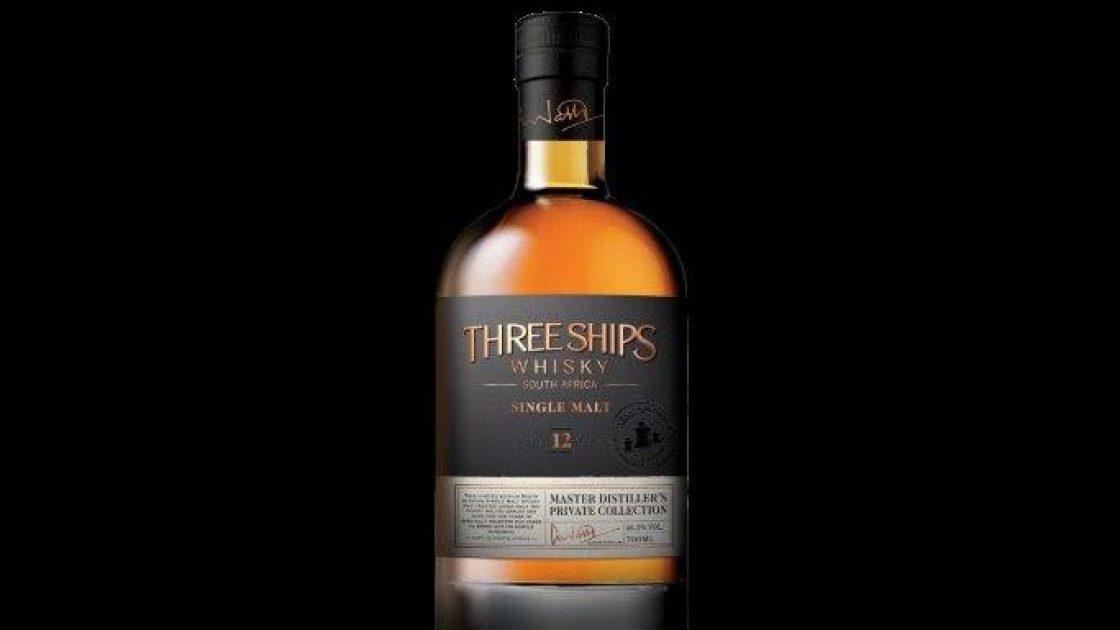 Three Ships 12 årig maltwhisky från Sydafrikas första destilleri nu i Sverige