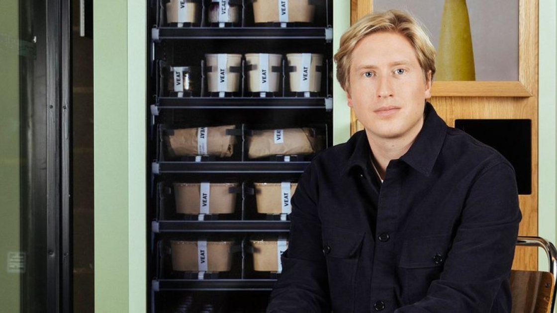 Sveriges första matautomat med växtbaserat