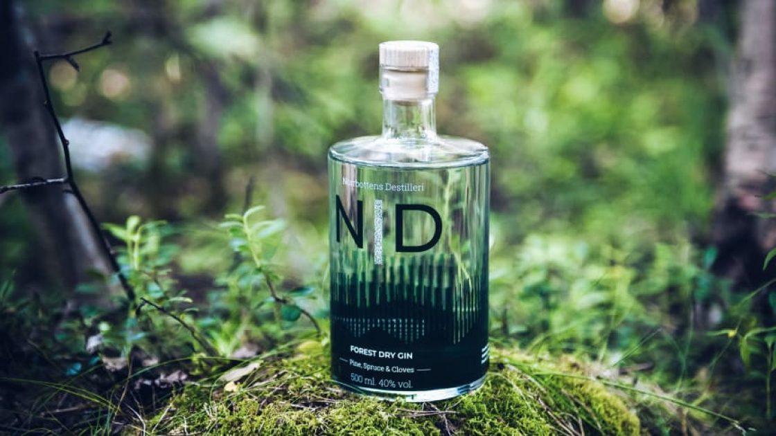 Norrbottens Destilleri lanserar Forest Dry Gin – med smak av Norrbottens skogar